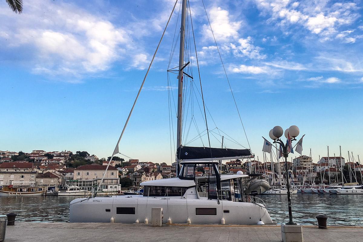 Roto Yachting, Segeln in Kroatien, Trogir